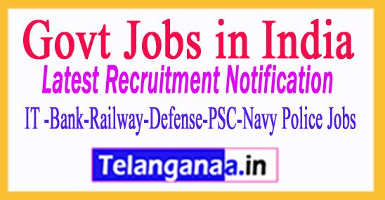 Central Employment Exchange Recruitment Notification 2017
