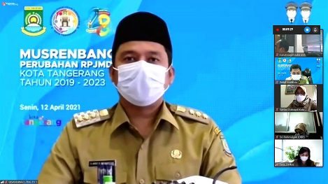 Walikota Tangerang Upaya Tingkatkan Pertumbuhan Ekonomi UMKM