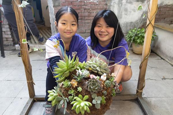 永靖國小探索教育課程 小園藝師打造「植夢園」