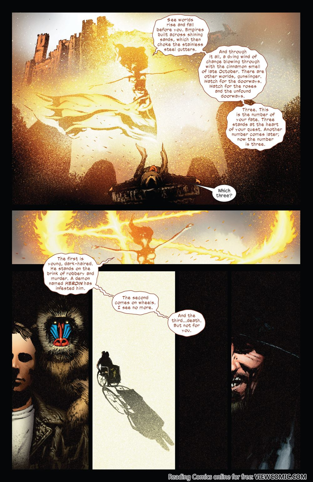 The Dark Tower The Gunslinger The Way Station 05 Of 05 2012 Viewcomic Reading Comics Online For Free 2019