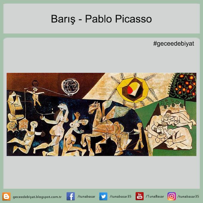 Barış - Pablo Picasso
