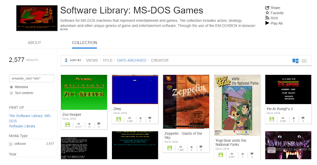 Play Free MS-DOS Games
