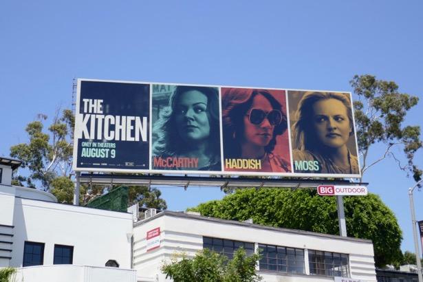 Kitchen movie billboard