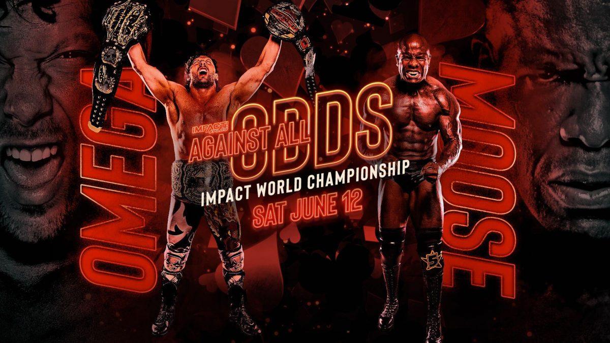 Moose enfrentará Kenny Omega pelo IMPACT World Championship no Against All Odds