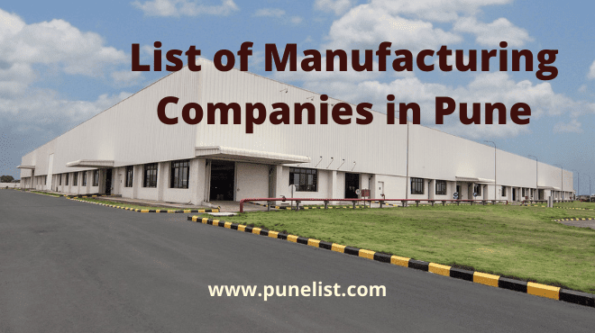 List of Manufacturing Companies in Pune