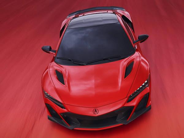 Acura NSX 2022 Type S estreia nos EUA com 600 cv para encerrar produção