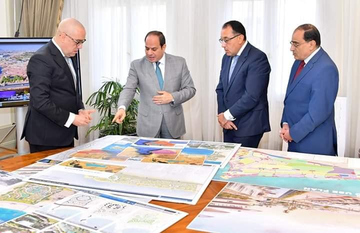 إنشاء 9 مدن جديدة بصعيد مصر ضمن مدن الجيل الرابع لاستيعاب 4.5 مليون نسمة، وتوفير 1.4 مليون فرصة عمل.