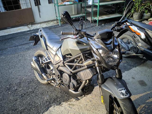 Modifikasi Yamaha Byson Simpel Kekar !!!
