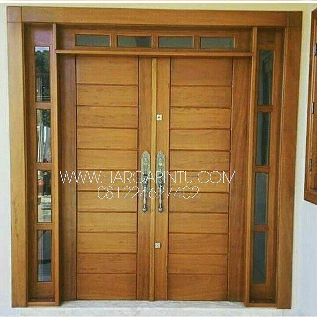 Desain Pintu Depan Rumah Minimalis   Gambar Model Pintu ...