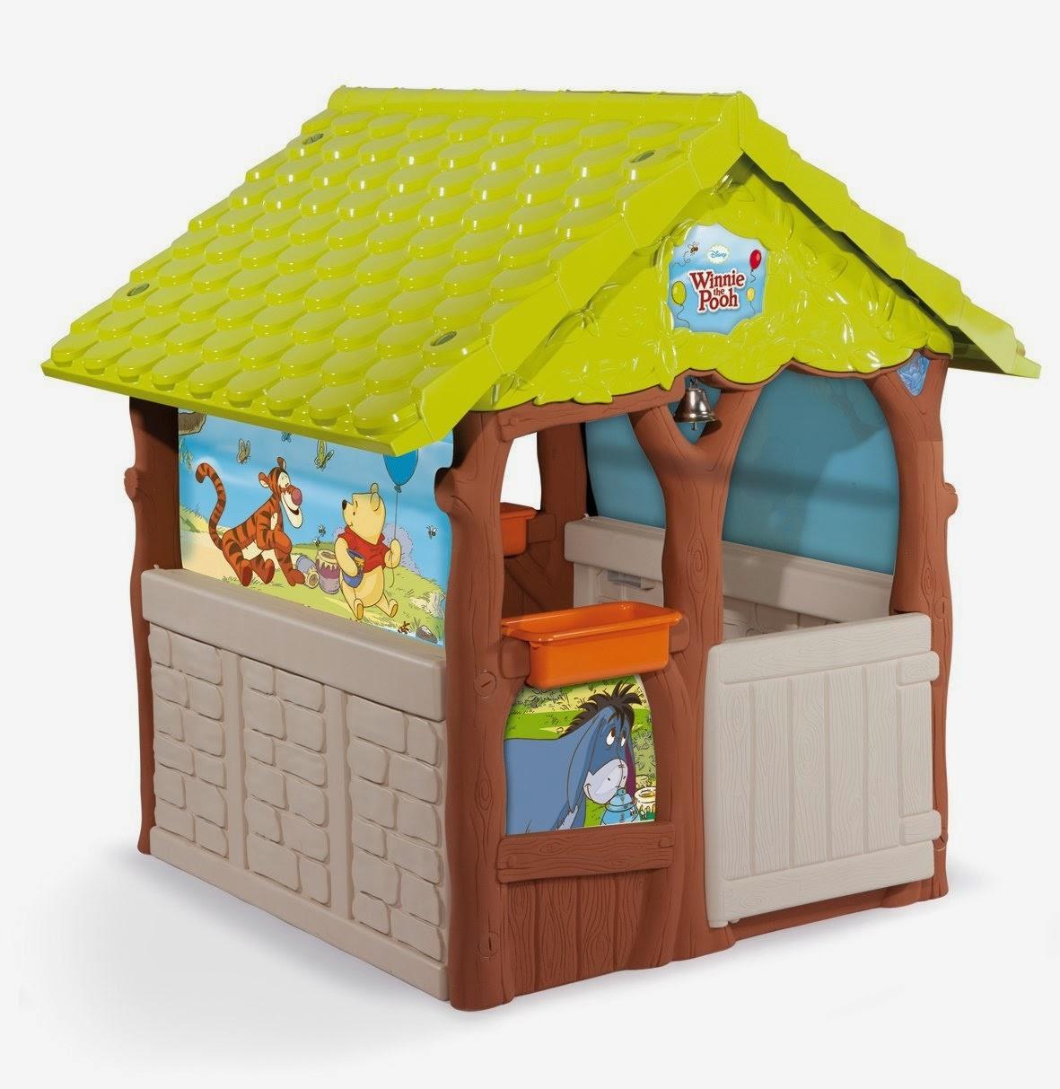 Casa Albero di Winnie The Pooh giocattolo da giardino Smoby bambini caratteristiche prezzo