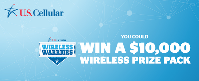 U.S. Cellular is giving away a $10,000 Wireless Prize Package to one lucky wireless warrior winner! Enter daily for your chance to win!