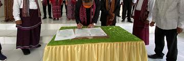 Pelantikan Badan Pengurus Kerukunan Keluarga Solor Kota Tarakan