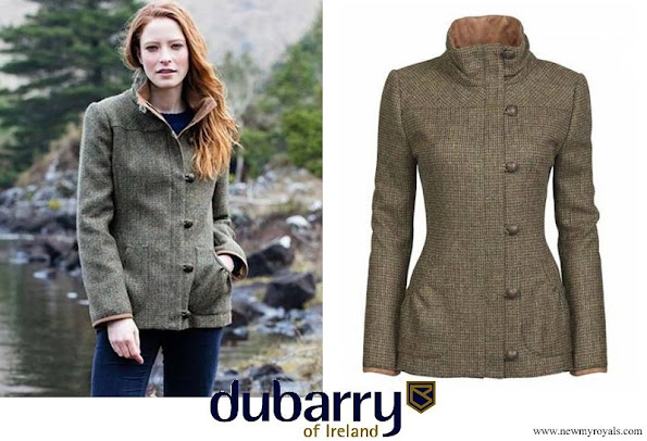 Kate Middleton wore Dubarry Bracken Utility Tweed Jacket