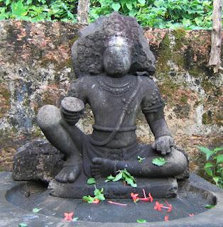 Ayyappa Idol at Mridngasaileswari temple, Muzhakkunnu, Kannur, Kerala