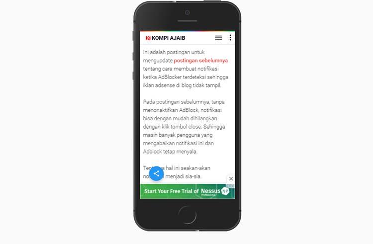 Solusi Sementara Unit Iklan Page-level Adsense Untuk Blog AMP