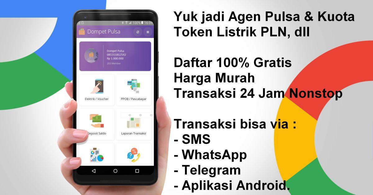 Aplikasi Jualan Pulsa Termurah 2019