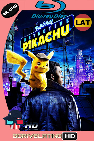 Pokémon Detective Pikachu (2019) UHD BLU-RAY Latino-Ingles ISO