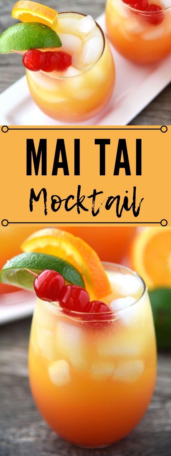 MAI TAI MOCKTAIL #drink governori #drink #delicious #smoothie #cocktail