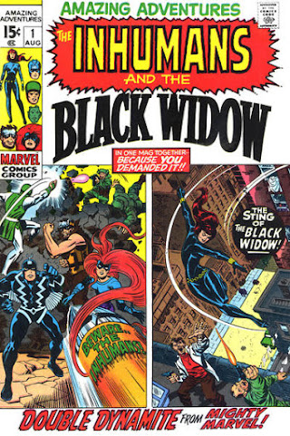 Amazing Adventures #1, The Inhumans and the Black Widow