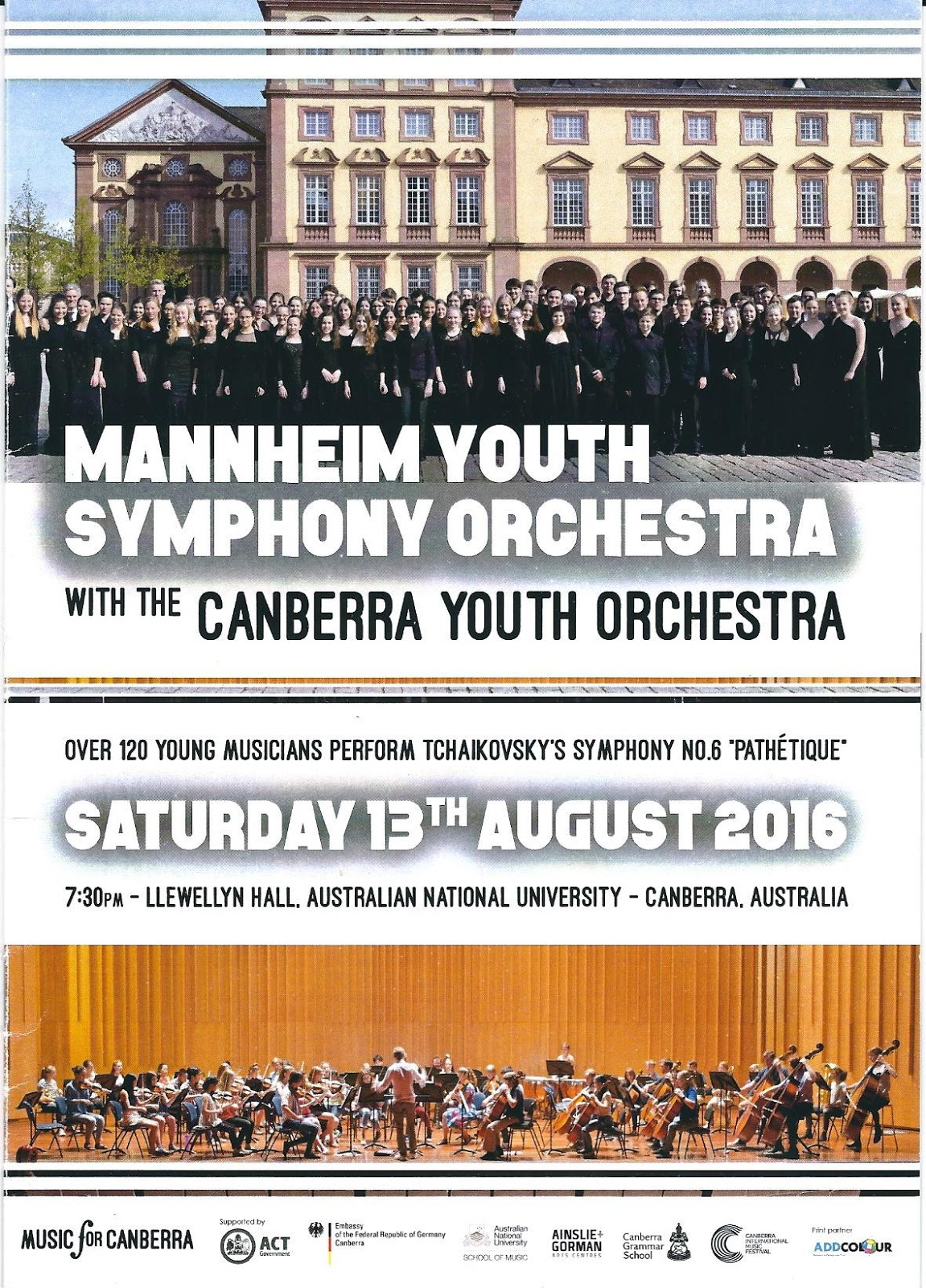 Baton Mannheim canberra critics circle mannheim youth symphony orchestra with the