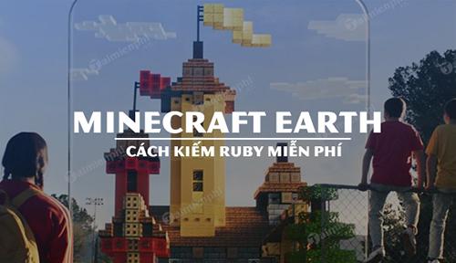 Người chơi nên khai thác Ruby không lấy phí trải qua các quặng nhé!