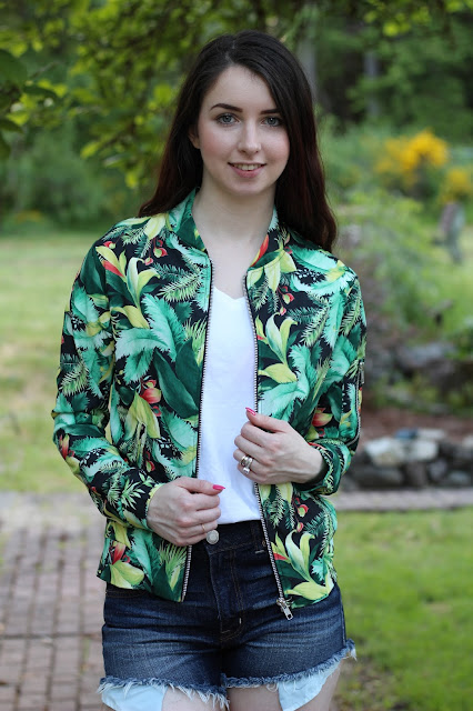 tropical summer bomber