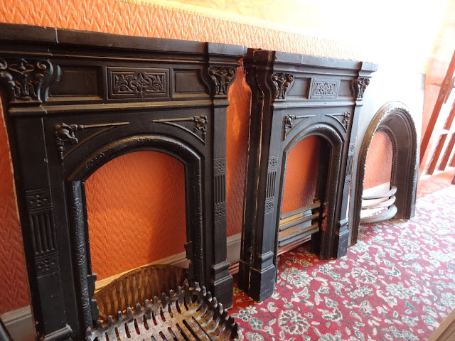 4 Victorian Fireplaces Saved from a Skip in Nottinghamshire