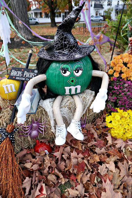Bruja Calabaza en New Hampshire