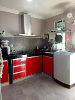 Kerja Pemasangan Kabinet Dapur Di Teluk Gadong