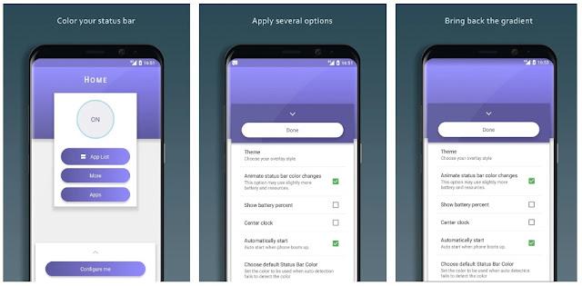 3 Aplikasi status bar android Terbaik Gratis Tanpa Root