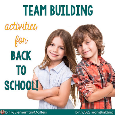 """Back to School - Here are five easy """"get to know you"""" activities that can be used at any time to encourage working together."""