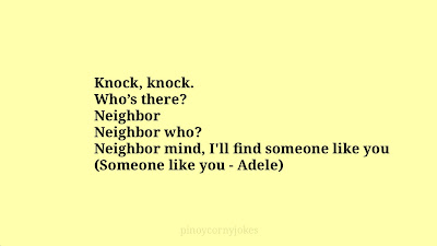 Neigboor Tagalog jokes knockknock