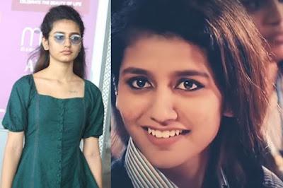 Priya Prakash 'No makeup'