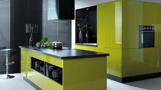Lime Green Kitchen Green Kitchen Cabinets Light Green Kitchen Ideas Kitchens With Pop Green Cabinets