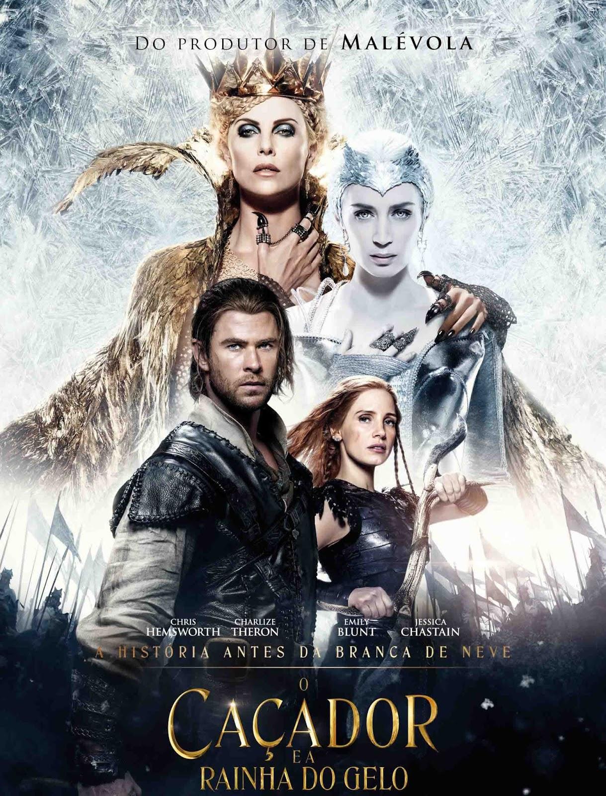O Caçador e a Rainha do Gelo Edição Estendida Torrent – BluRay 720p e 1080p Dual Áudio (2016)