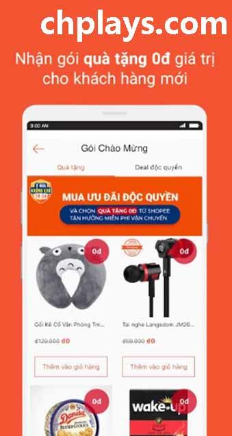 Tải Shopee về điện thoại, máy tính PC miễn phí - mua sắm online c