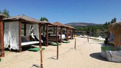 Aluguer de tendas de praia