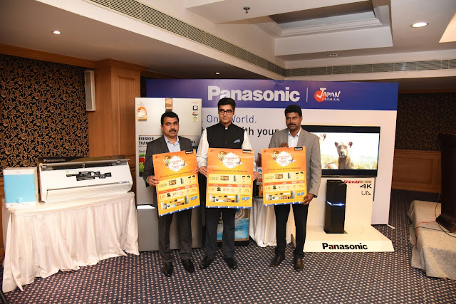 Panasonic plans Rs. 225 crore business during Onam in FY17