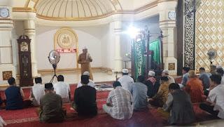 Gelar Safari Ramadhan 1442 Hijriyah, Baznas Kobi Sosialisasi ZIS ke 25 Masjid
