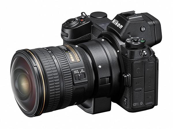 Nikon Z7 с адаптером FTZ