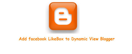 Add Face Book Plugins (Likebox) to Dynamic View Blogger | Dream IIT!