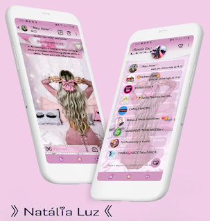 Girls Is Hair Theme For YOWhatsApp & Fouad WhatsApp By Natalia Luz