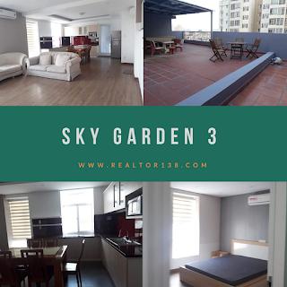 Cho thuê penthouse chung cư Sky Garden 3