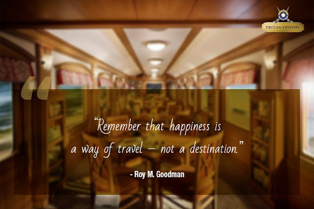 luxury rail journey quotes