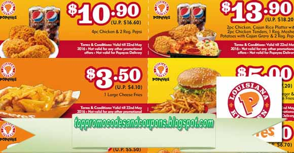 Popeyes coupons greenbelt md