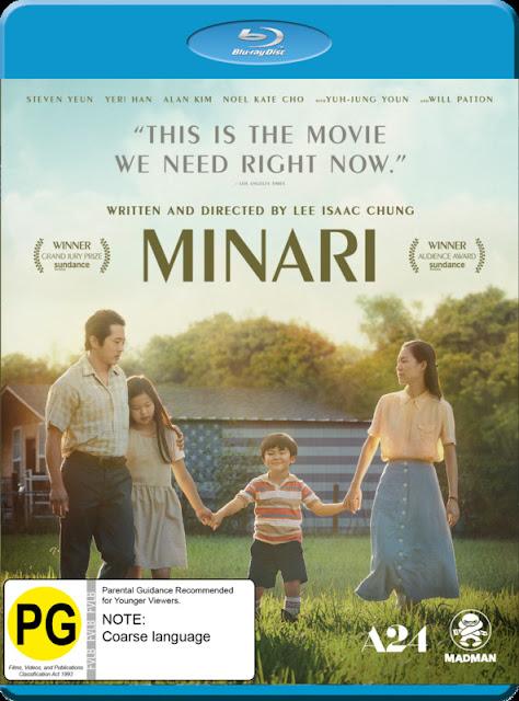 Win a copy of Minari on Blu Ray