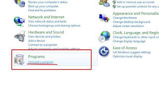 Cara Merawat Laptop 3# Uninstal Program yang Sudah Tak Digunakan