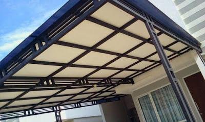 rangkuman model canopy baja ringan