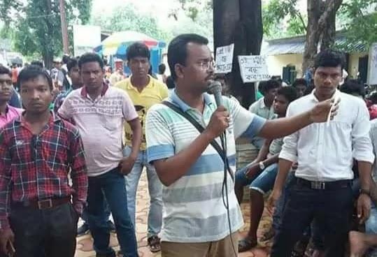Sunil-Saran-a-former-tribal-Gaota-leader-arrested