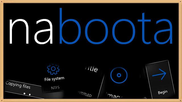 شرح برنامج Naboota نسخ وحرق ويندوز لينكس وملفات iso على Usb و Dvd